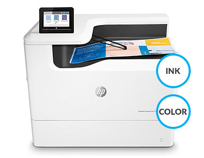 Drukarka - HP PageWide Managed Color P75250dn